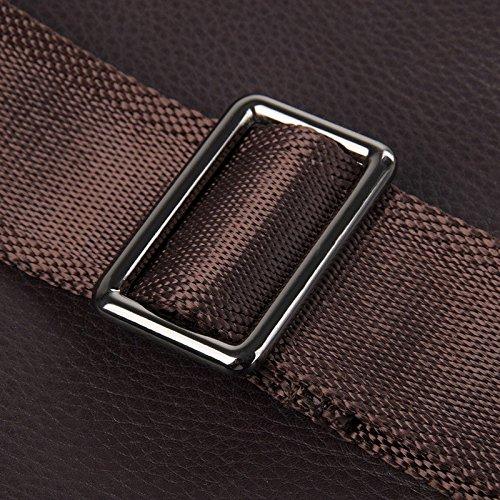 Hongrun Männermode koreanische Version des Full-Grain Leder Brust pack Soft Freizeitaktivitäten Brust Pack