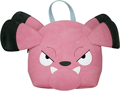 Loungefly Women's Snubbull Head Mini Backpack Pink Multi