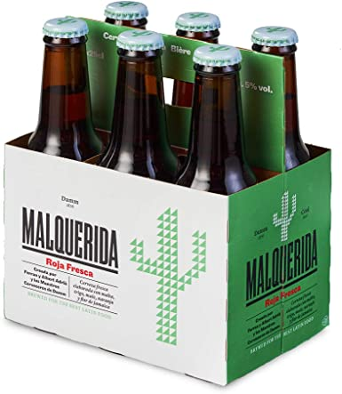 Malquerida Cerveza - Pack de 6 Botellas 25cl: Amazon.es ...