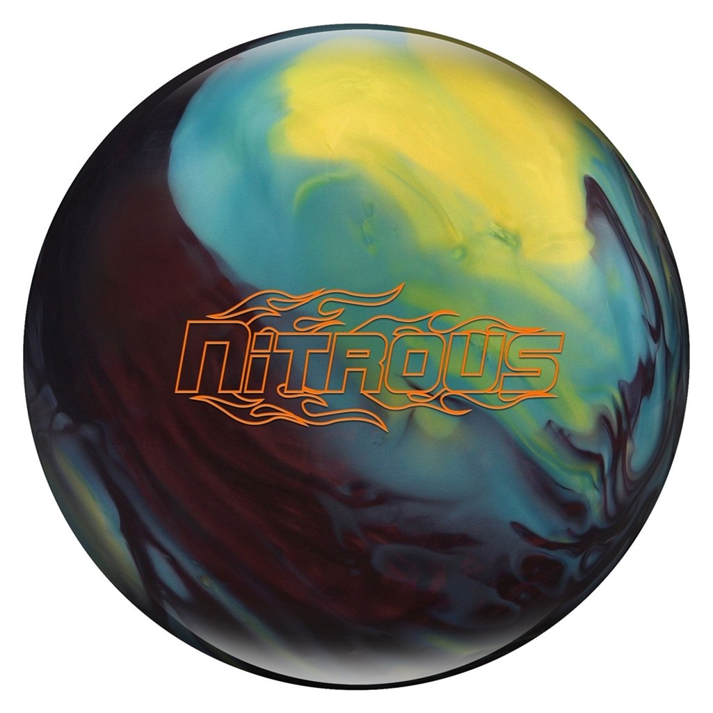 (15) - Bowlerstore Products Columbia 300 Nitrous PRE-DRILLED Bowling Ball- Black Cherry/Yellow/Blue B07D38KQ72