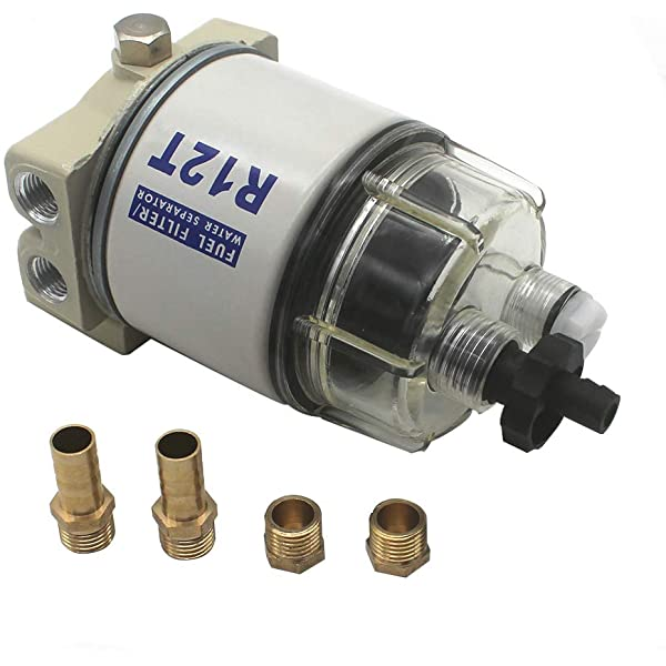 Brand New For R12T Marine Spin-on Fuel Filter Water Separator 120AT