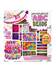 Just My Style Personalized ABC Beads Kit, Bright