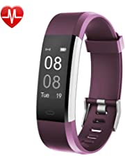 Fitness Tracker,YAMAY Activity Tracker Heart Rate Monitor Waterproof IP67 Fitness Tracker Watch with Sleep monitor Pedometer Calorie Watch for Kids Women Men Call SMS SNS Push for iOS Android Phone