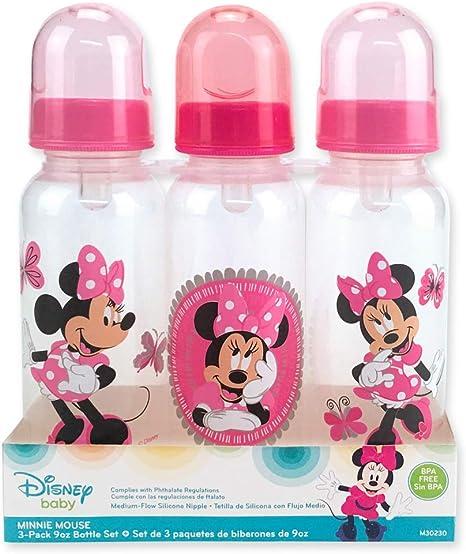 3 Pack bebé botellas Disney Pixar Cars 2 BPA libre Med Flujo de ...