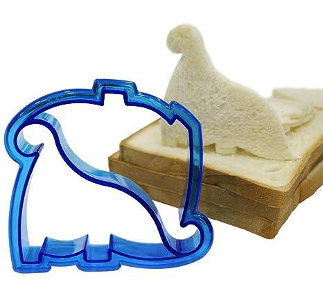Herramienta de Cocina Diy forma de dinosaurio molde de corte de hechizo gráfico molde de bocadillo