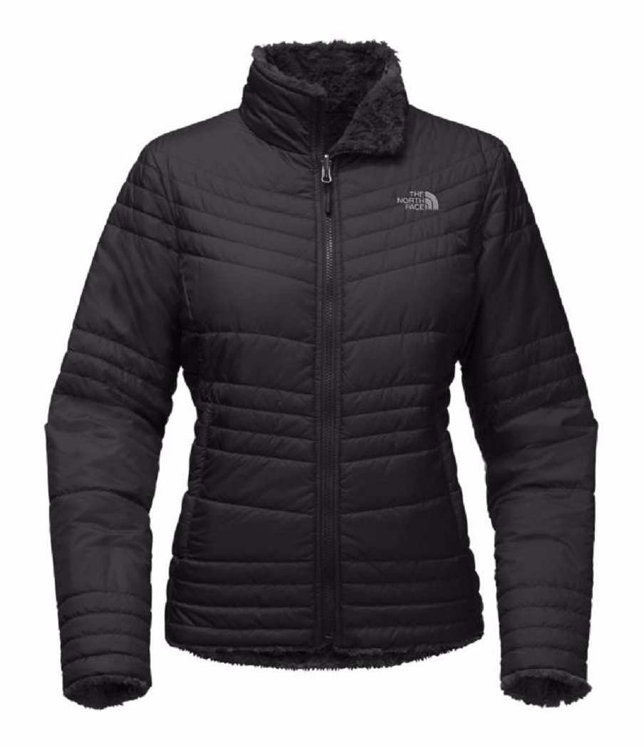 The North Face Mossbud Swirl Jacket Women Small TNF Black