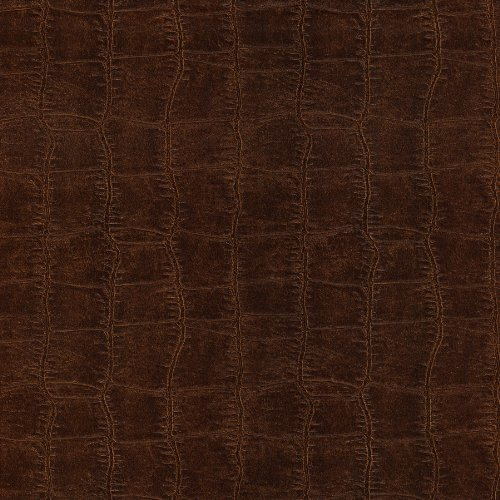 Brown Match Vinyl Leather (Brewster 412-56905 20.5-Inch by 396-Inch Leather Textured Depth Wallpaper, Brown)