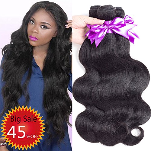 wet and wavy human hair weave - 1