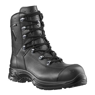Haix Calzado de Protección para Hombre Negro Negro: Amazon.es: Zapatos y complementos