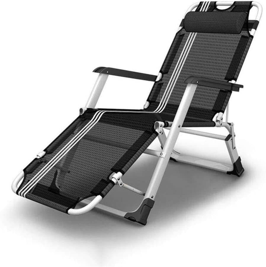 LJLDP Zero Gravity Chaise Longue inclinable pour Plage