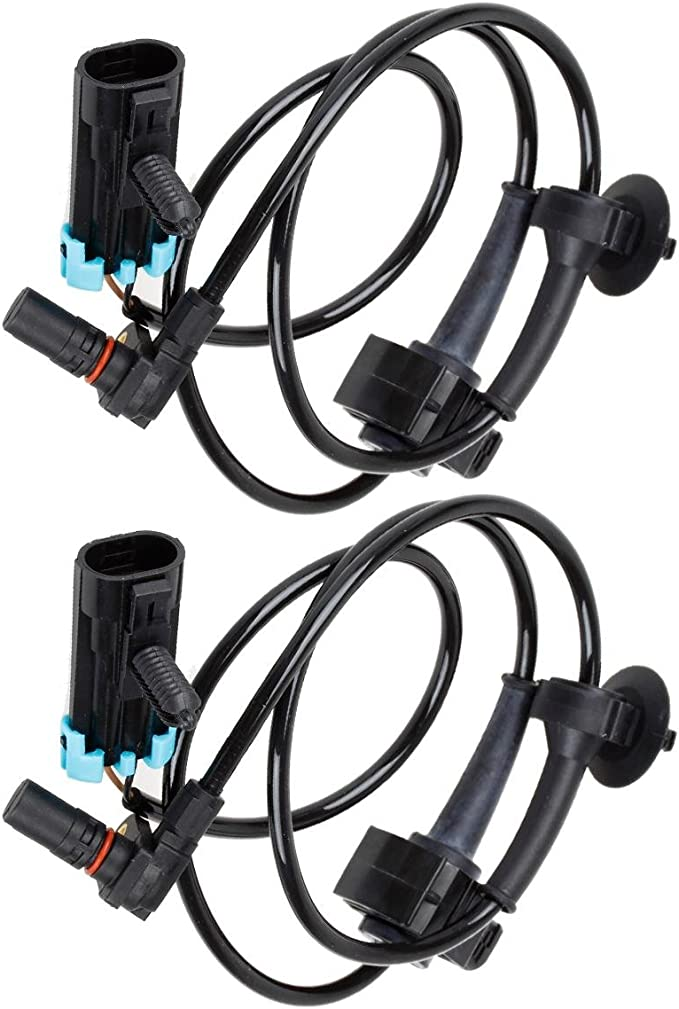 TUPARTS 2 x Left/&Right/&Rear ALS1550 ALS1706 ABS wheel speed sensor Fit for 2007-2011 for Mitsubishi Outlander 2007-2011 for Mitsubishi Outlander 2009-2011 for Mitsubishi Lancer