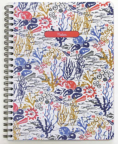 Large Spiral Notebook (Seasalt: Life by the Sea Large Spiral-bound Notebook)