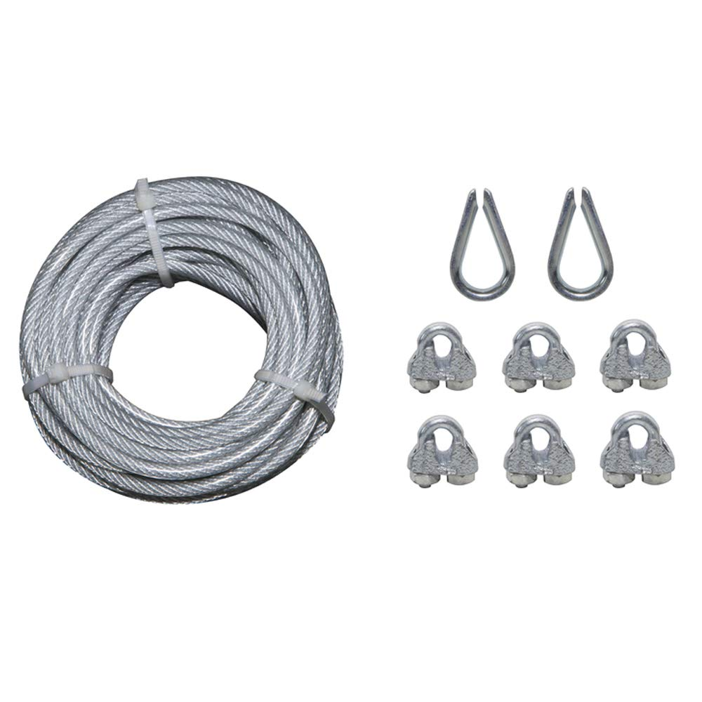 30-ft Weldless Vinyl Coated Steel Cable