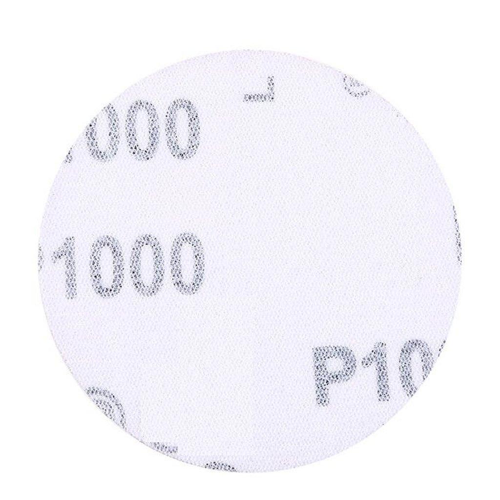 P800 LOVIVER 20x 75mm 3 Hook and Loop Sanding Discs Paper 40#-2000# Grit Orbital Sander