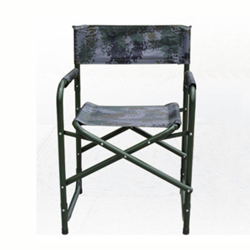 ZGL 旅行椅子 屋外折り畳み椅子背もたれの椅子ビーチチェアフィールド釣りチェア折りたたみチェアポータブルカラー ( 色 : カモフラージュの色 ) B07CG5KDD2  カモフラージュの色