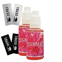 2 x Pinkman Aroma 30ml und 4 Akkusleeves OHNE NIKOTIN