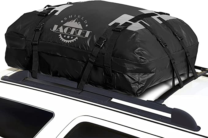 SHIELD JACKET Waterproof Roof Top Cargo Luggage Travel Bag (15 Cubic Feet)