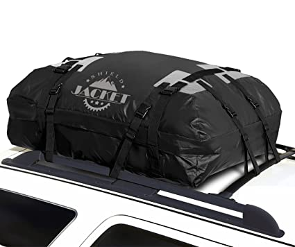 3f8e372d189b SHIELD JACKET Waterproof Roof Top Cargo Luggage Travel Bag (15 Cubic Feet)  - Roof