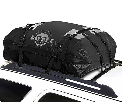 SHIELD JACKET Waterproof Roof Top Cargo Luggage Travel Bag (15 Cubic Feet)  - Roof 48615b57f9eed
