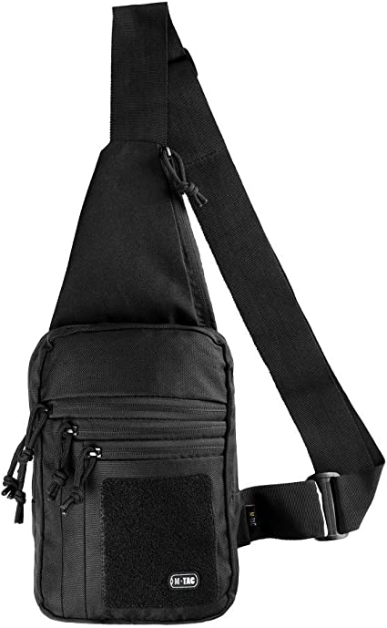 Mens Concealed Chest Bag Pack Messenger Shoulder Bag Backpack Right //Left