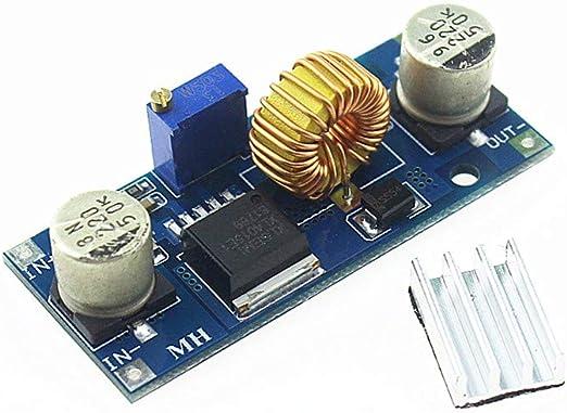 DC 4V-38V to 1.25V-36V 2A Step Down Power Supply Regulator 24V 12V 9V 5V UK