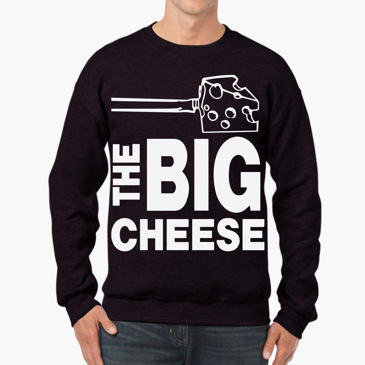 The Big Cheese Funny Birthday Vegan Gift Unisex Sweatshirt tee