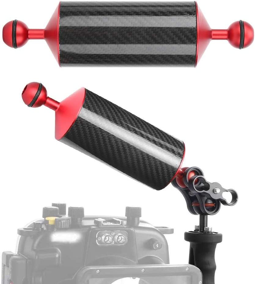 Vbest life Diving Floating Arm Carbon Fiber Underwater Float Arm for Video Light//Strobe mounting Shooting Photography Extend Accessory