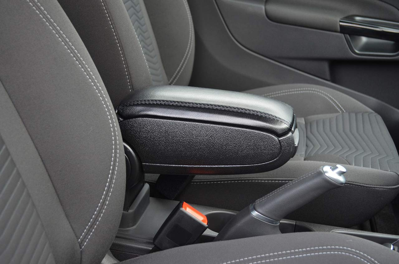 Centre Console Armrest Box Black To Fit Caddy 2004-15