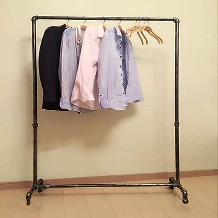 Qianniu Perchero industrial para ropa de tubería de uso ...