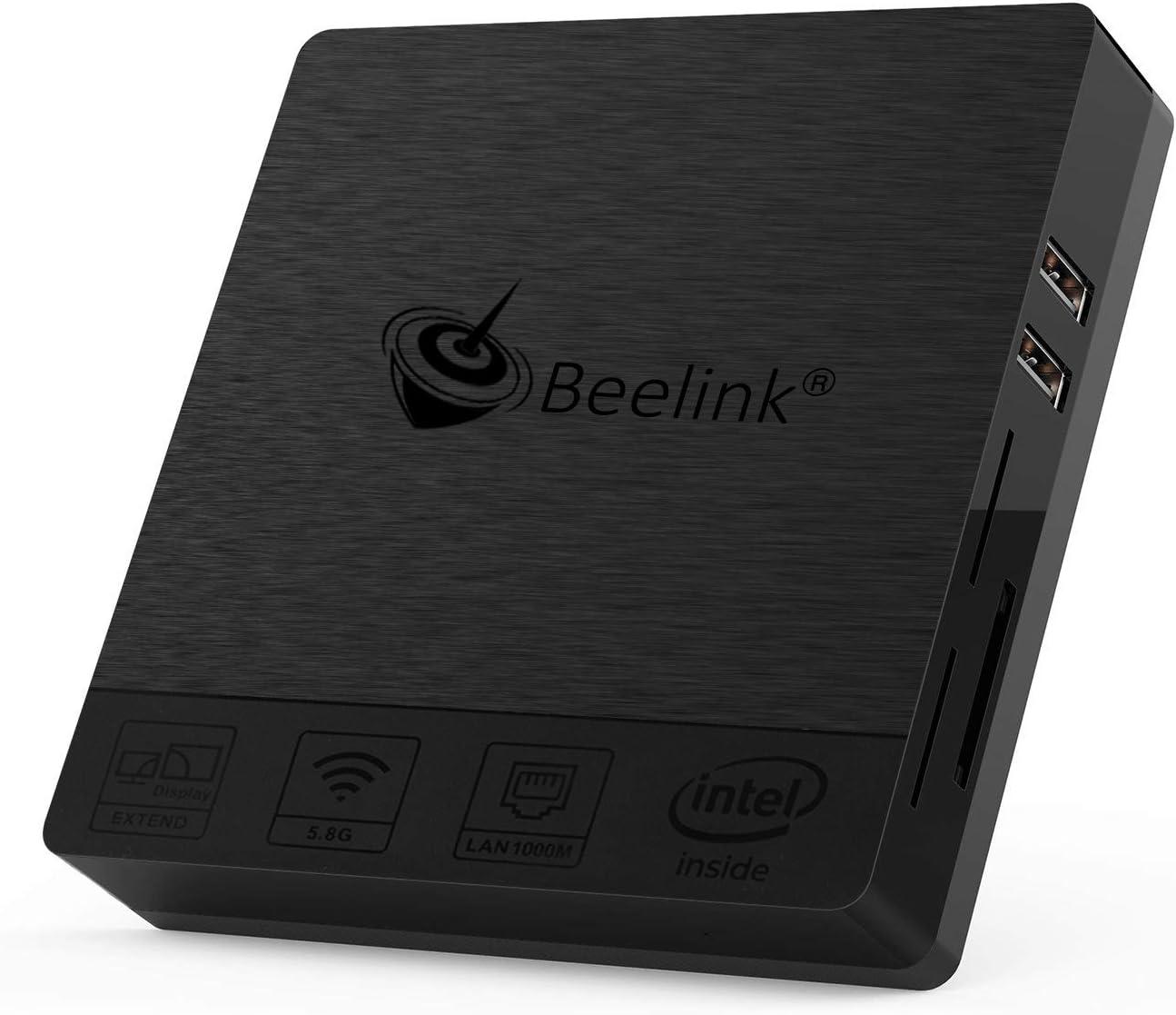 Mini PC - Pc Computer (Intel Apollo Lake, HD Graphics, Gigabit/Bluetooth/Dual-Band/WiFi, Mini PC Windows 10) Mini PC Intel, Mini Computer