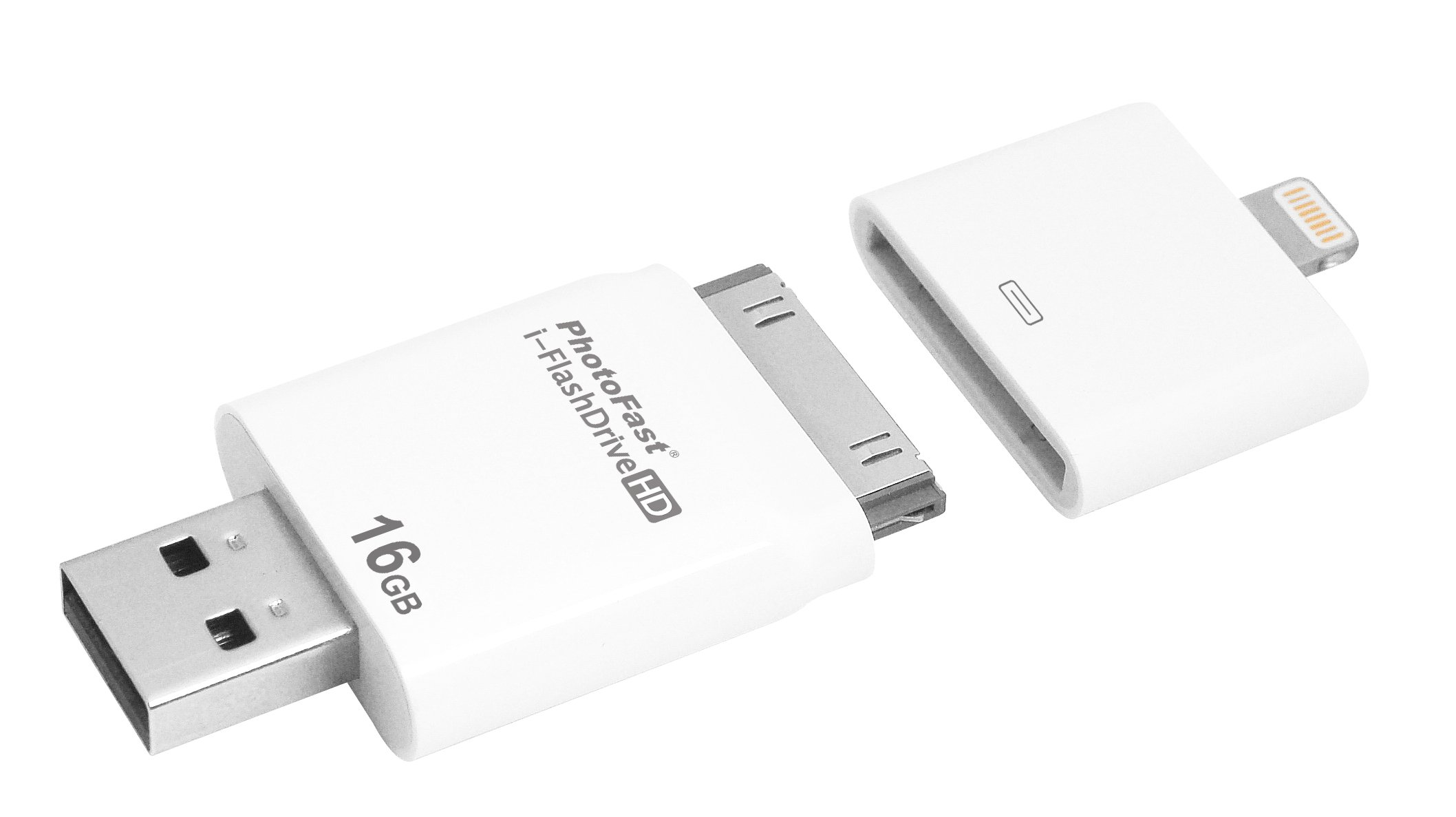 PhotoFast i-FlashDrive HD 16GB Dual Storage for all iOS Devices (IFD04A16GB) by PhotoFast (Image #6)