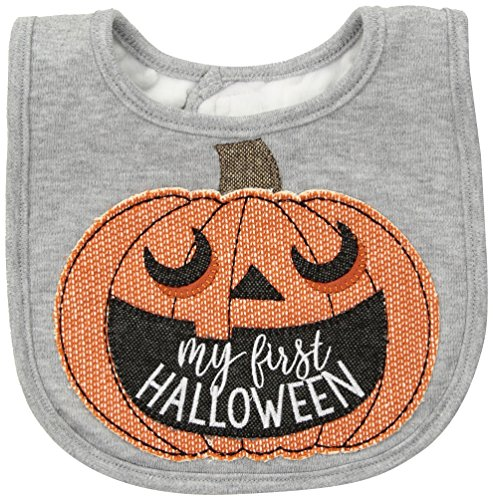 Mud Pie My First Halloween Pumpkin Bib]()