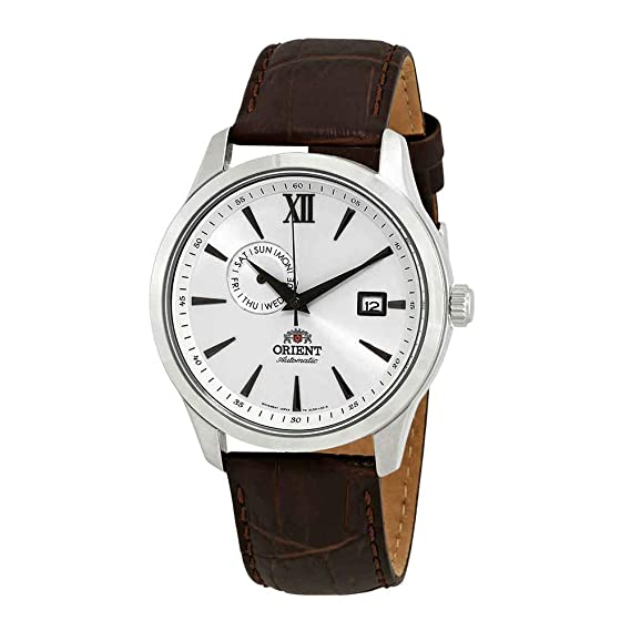 Orient Reloj Analógico para Hombre de Automático con Correa en Cuero FAL00006W0