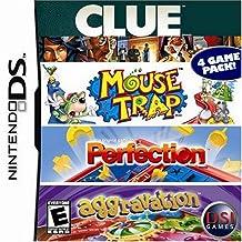 Clue/Mouse/Perfection/Aggravation - Nintendo DS