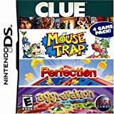 Best NINTENDO New Card Games - Clue/Mouse Trap/Perfection/Aggravation - Nintendo DS Review