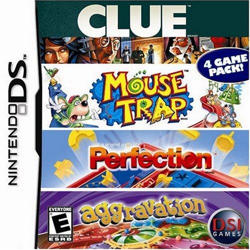 Clue/Mouse Trap/Perfection/Aggravation - Nintendo DS