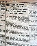 Rare Old Iron NIAGARA SCOW Stranded at Horseshoe