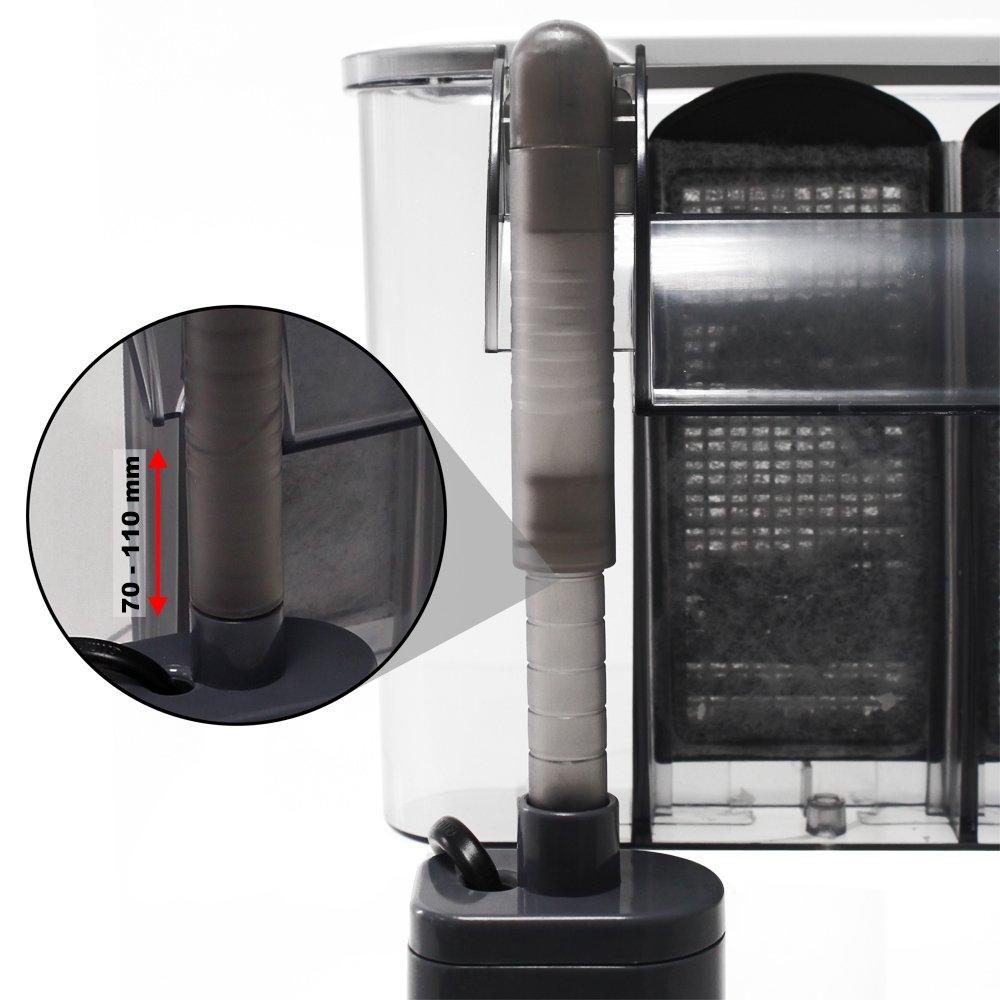 SunSun HBL-302 Filtro colgante / Filtro de remolque de 350 l/h a 20 l de acuario: Amazon.es: Hogar