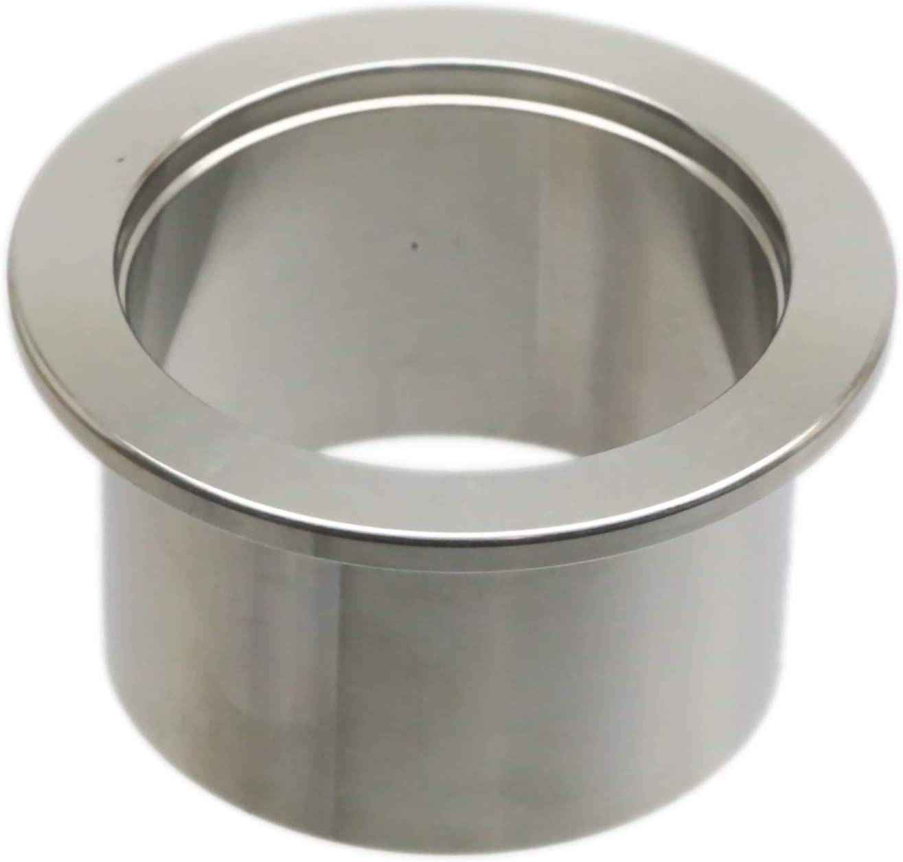 Length 30mm Stainless Steel 304 Connection Fange ISO-KF40 NW//KF-40 Vacuum Weld Flange Socket Fitting