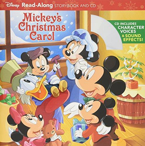 Mickey's Christmas Carol Read-Along Storybook and