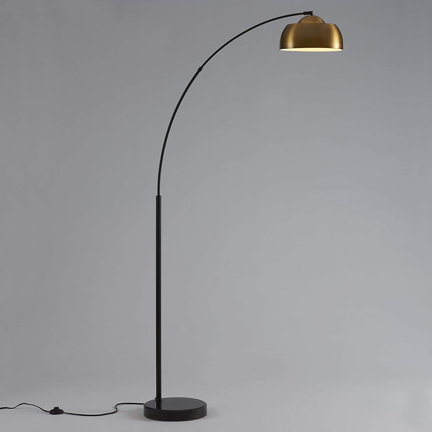 Amazon.com: Ambiore Arc Floor Lamp Dome II – Mid-Century ...