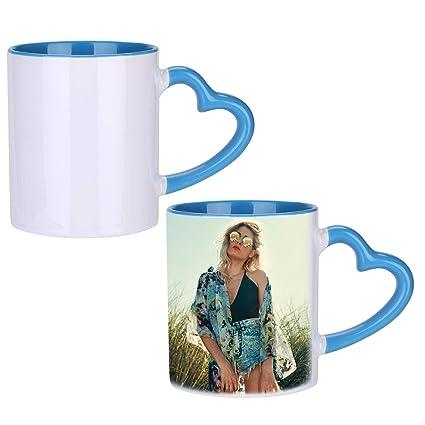 Amazon Com Lontg Personalized Photo Cups Coffee Mugs Tea