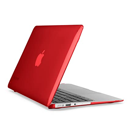 cheaper c9655 ba33c Speck Products SmartShell Case for MacBook Air 11-Inch, Poppy Red