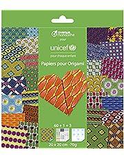 Avenue Mandarine - collectie UNICEF, Origami Paper, CO184C, meerkleurig