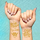 xo, Fetti 30 Bride Tribe Metallic Tattoos