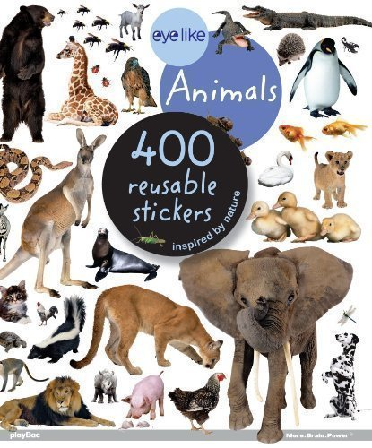 400 Animals - Animals: 400 reusable stickers inspired by nature (Eye Like Stickers) (2011)