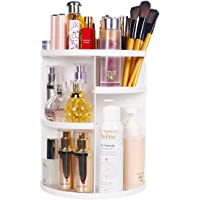 ELOKI 360 Makeup Organizer DIY Detachable Spinning Cosmetic Makeup Caddy Storage DIsplay Bag Case Large Capacity Makeup…