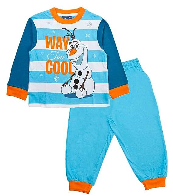 9778c3e57 Disney Frozen Boys Long Pyjamas Pjs  Amazon.co.uk  Clothing