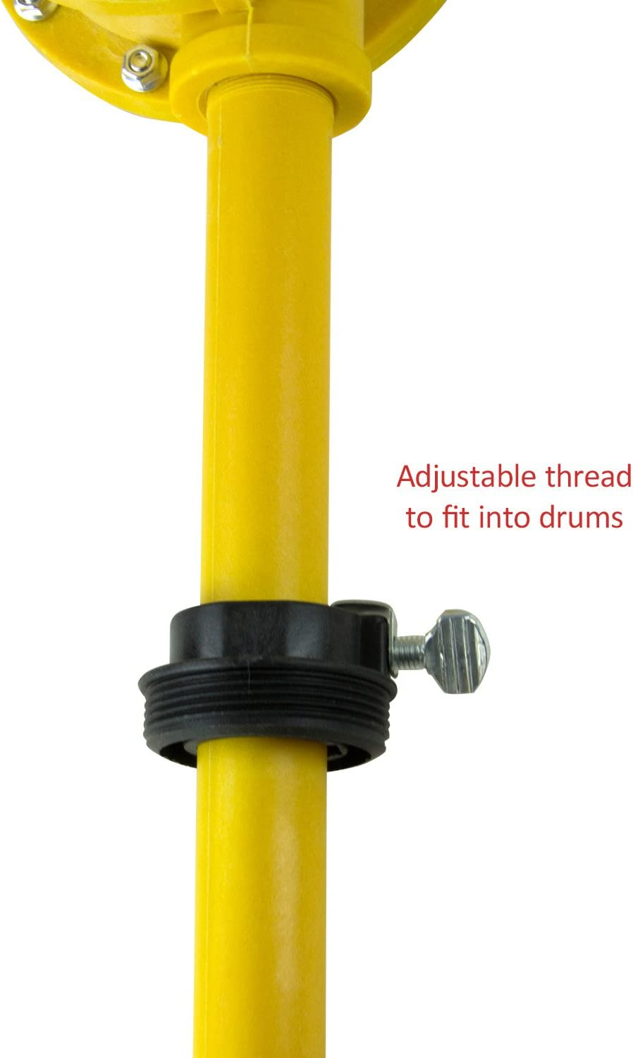 and 55 gal TERAPUMP TRLTCD01 Chemical Piston Action Nylon Drum Pump for Use On 15 30