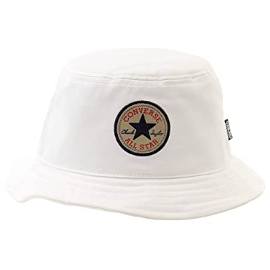 a753610a01bb1 Converse Men's Classic Bucket Hat Con White Hat at Amazon Men's ...